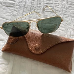 Men's Ray-Ban Aviator Sunglasses w/ Case